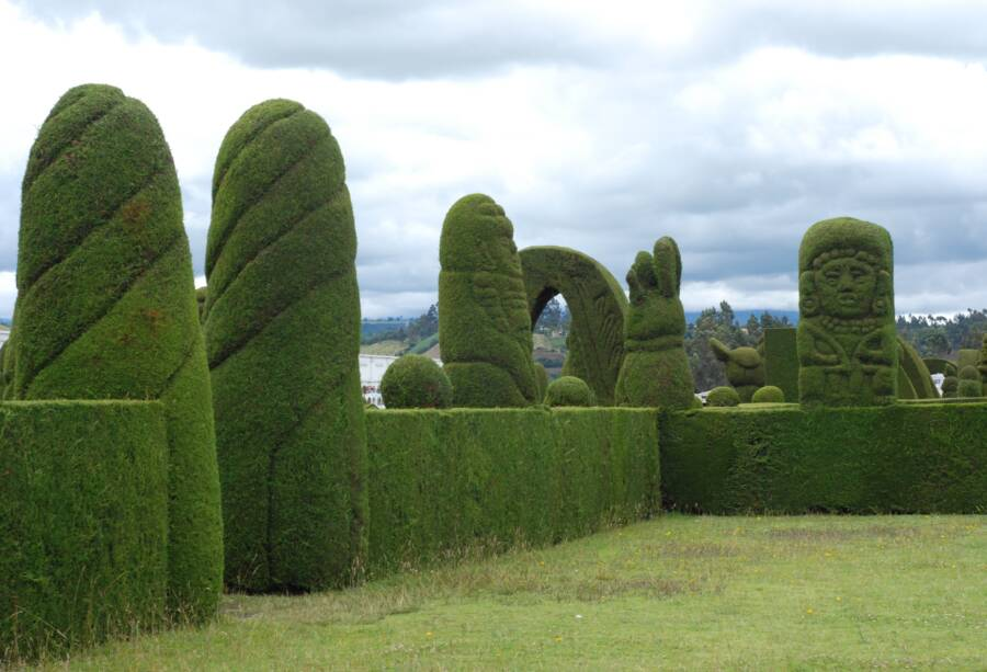 Famous Topiary Garden
