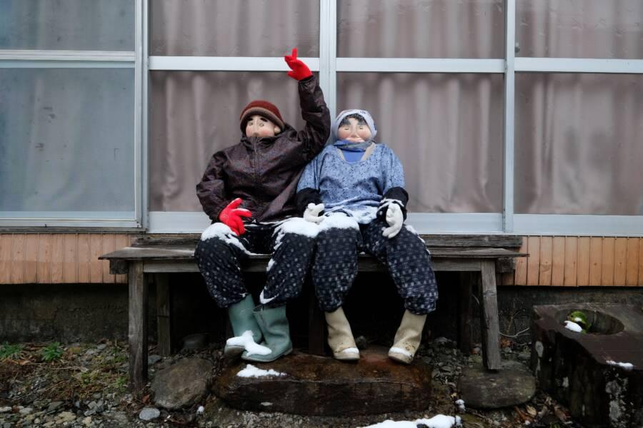 Farming Couple Dolls