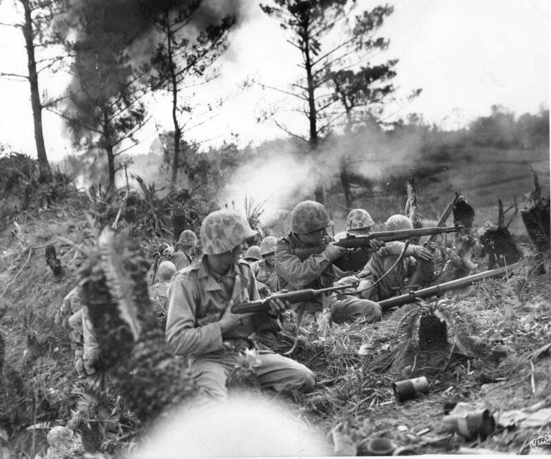 Fighting In Naha Okinawa