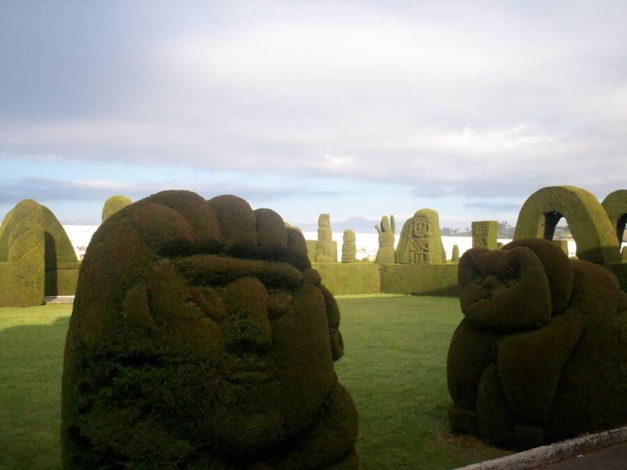 Foreground Ecuador Cemetery