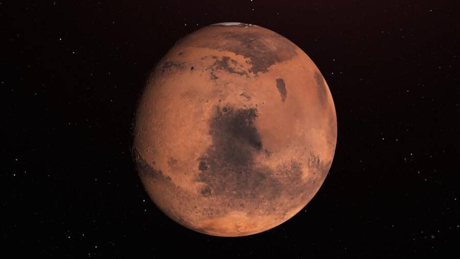 Full View Of Mars
