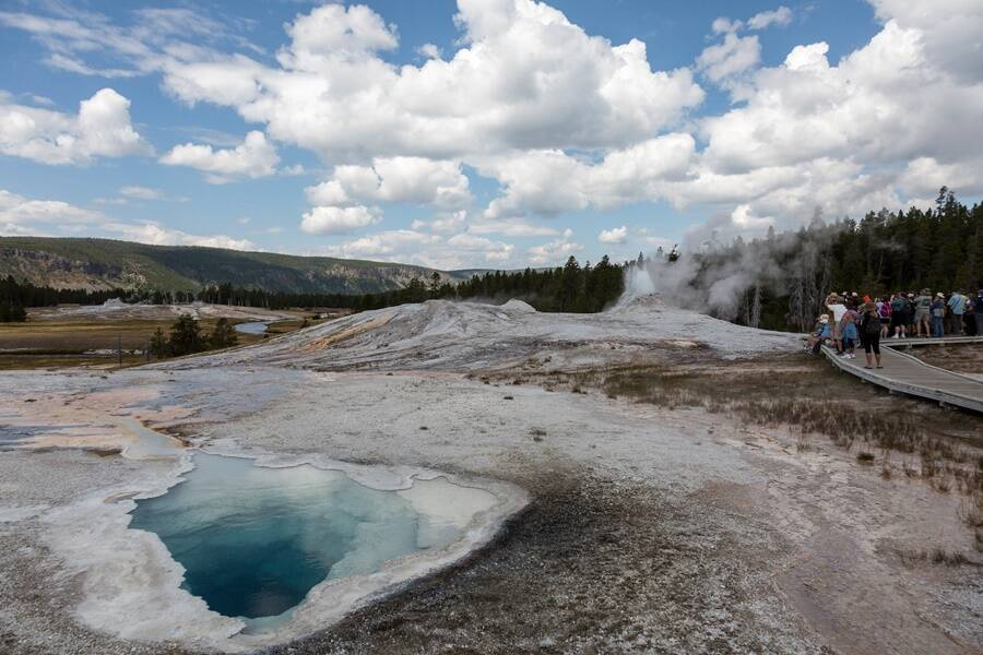 Geyser Thermal Pool