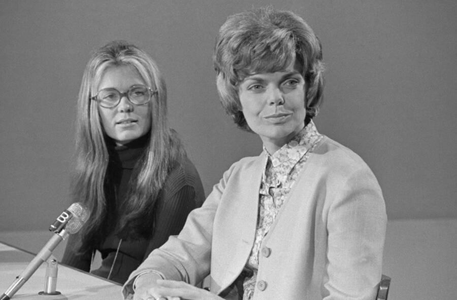 Gloria Steinem And Jill Ruckelshaus