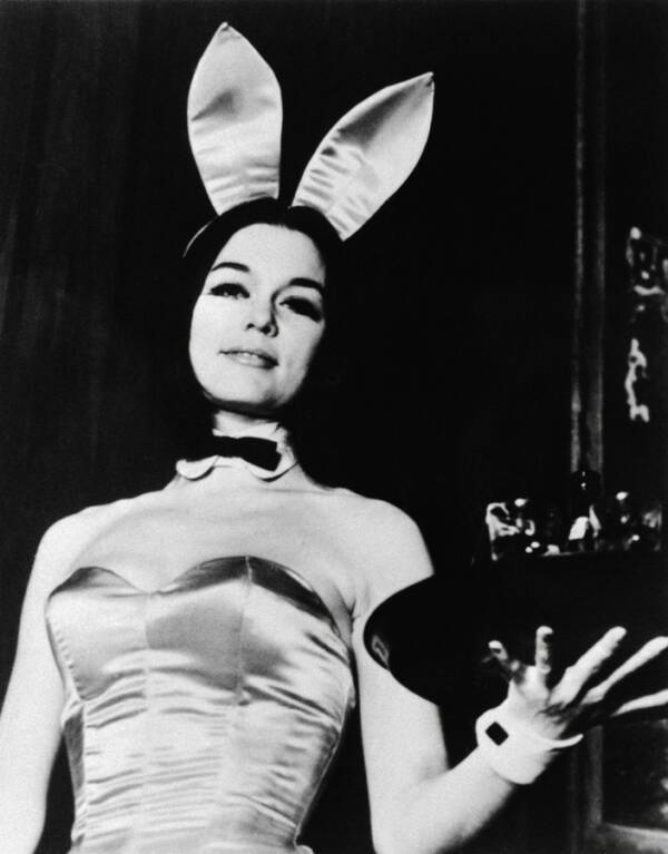 Gloria Steinem As Playboy Bunny