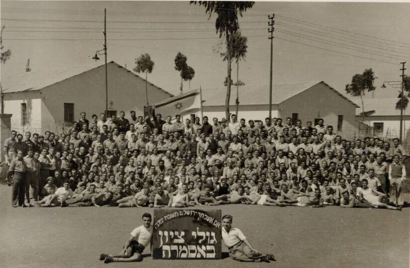 Group Of Lehi And Irgun Seated