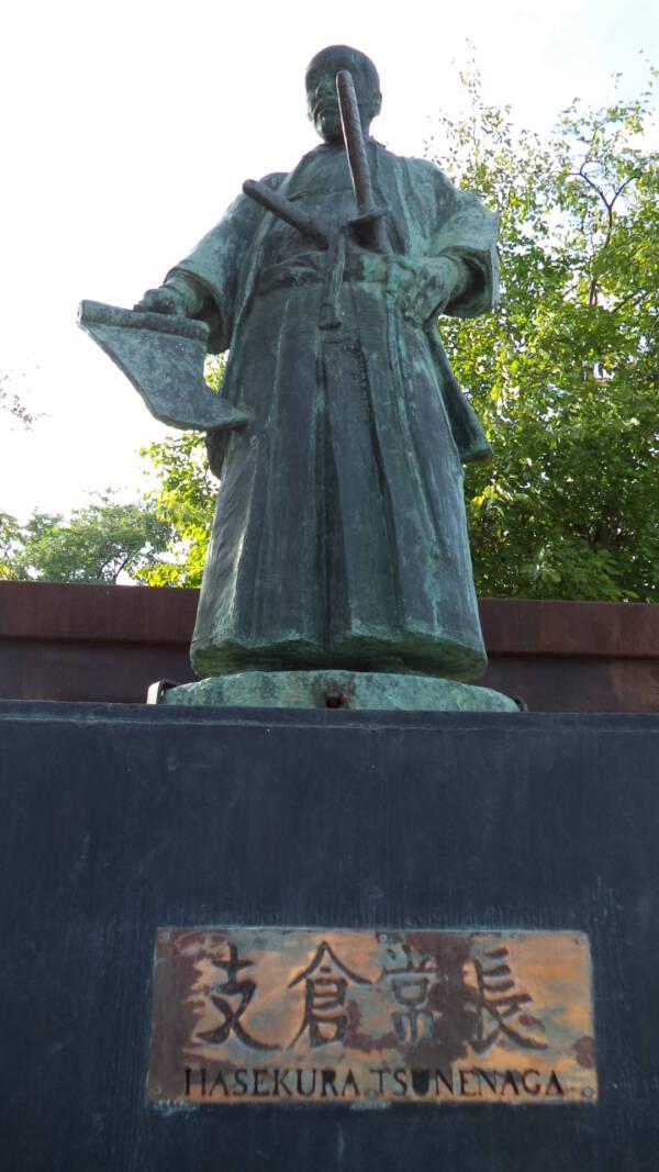 Hasekura Tsunenaga Statue