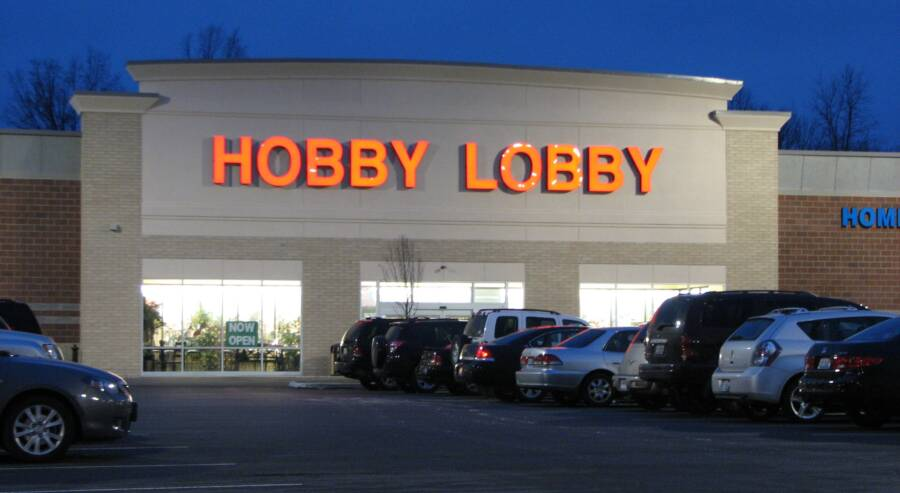Hobby Lobby Store Front