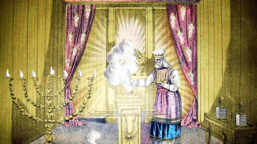 Holy Of Holies From Holman Bible