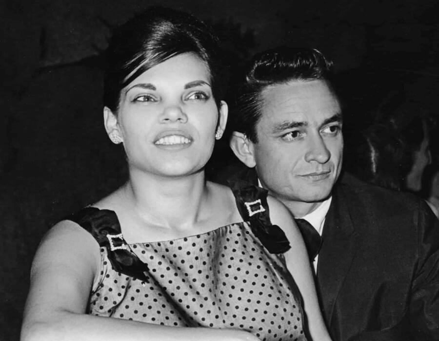 Photo Of Johnny Cash And Vivian Liberto