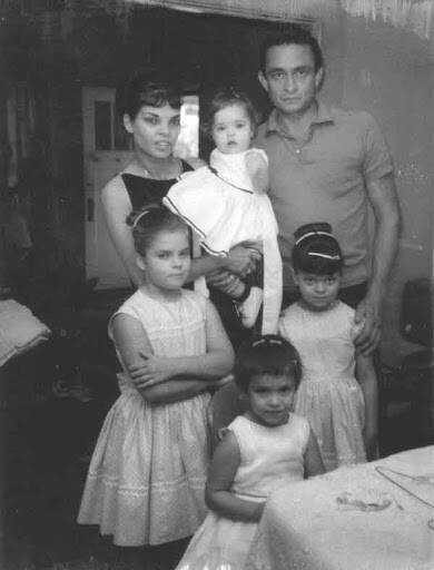 Johnny Cash Family Portrait
