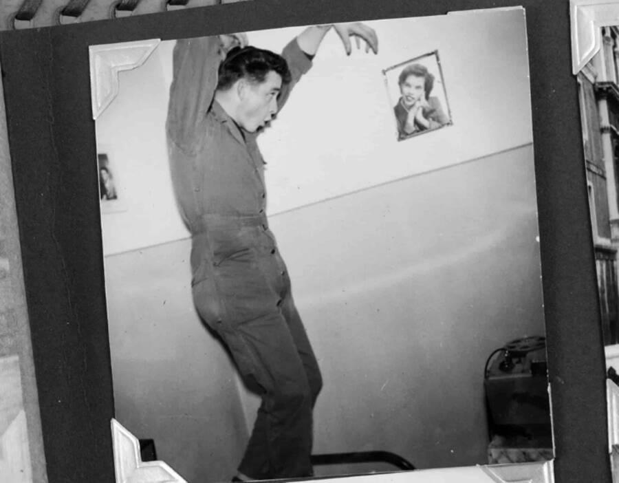 Johnny Cash On Military Duty