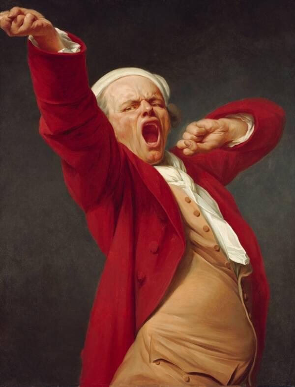 Portrait Of Joseph Ducreux