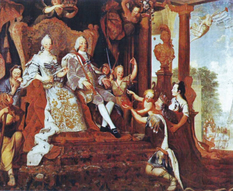 Joseph I And Family