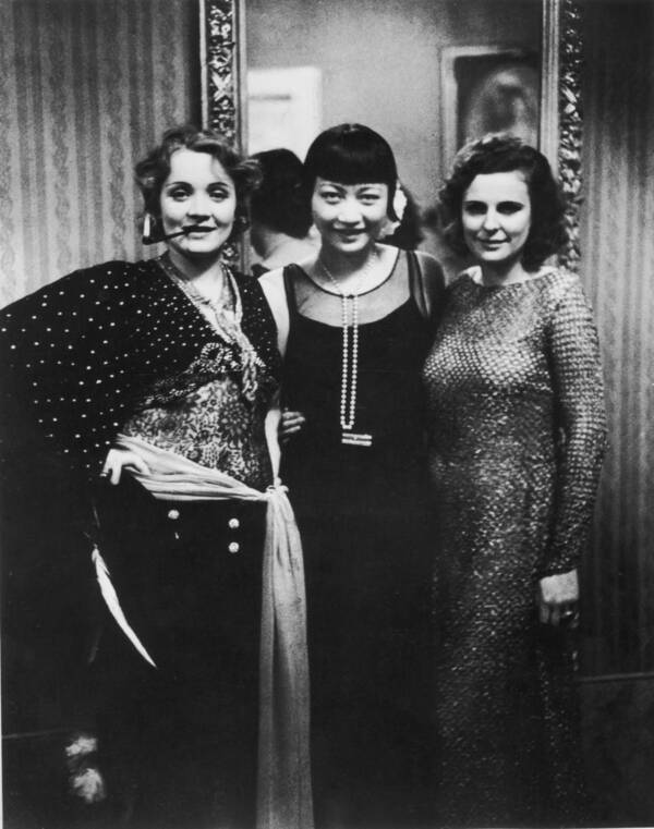 Marlene Dietrich And Anna May Wong