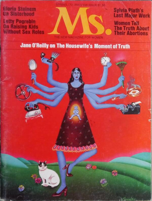 Ms Magazines First Cover