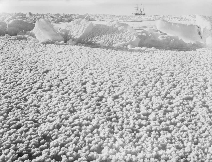 Ice Around The Endurance