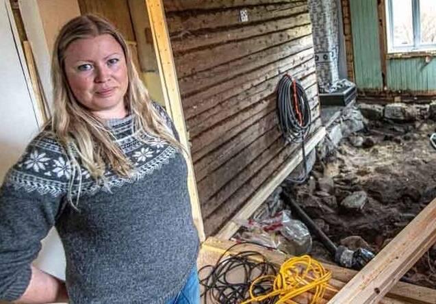 Norwegian House Torn Up