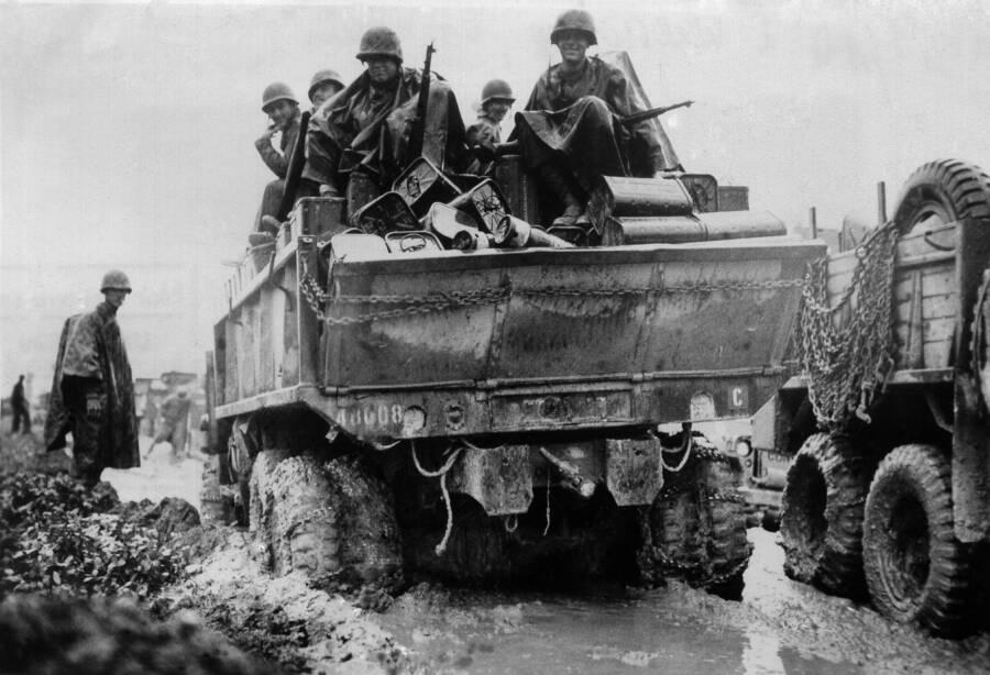 Okinawa Army Trucks