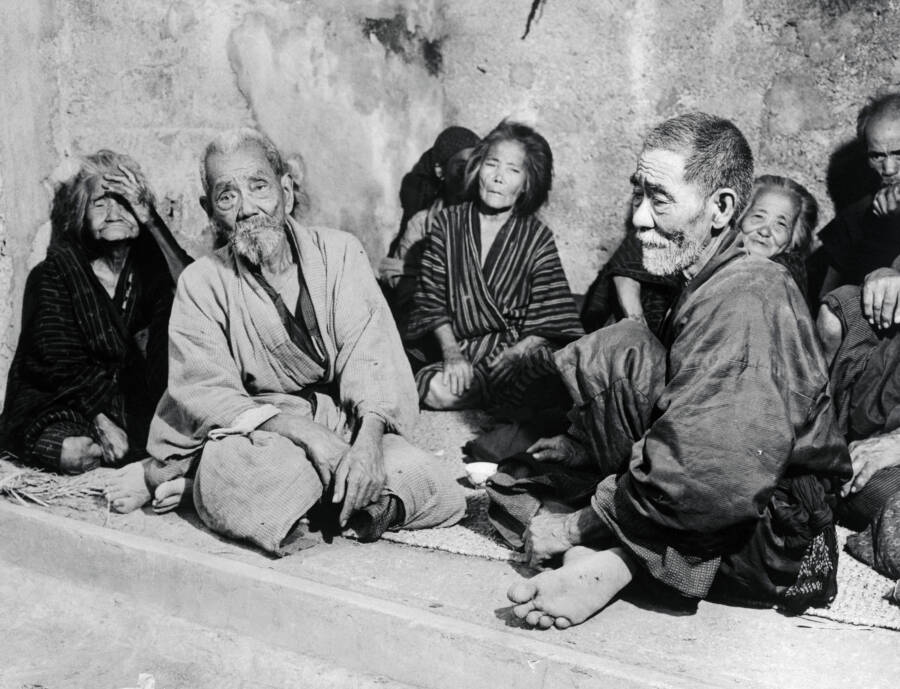 Okinawa Residents Sitting