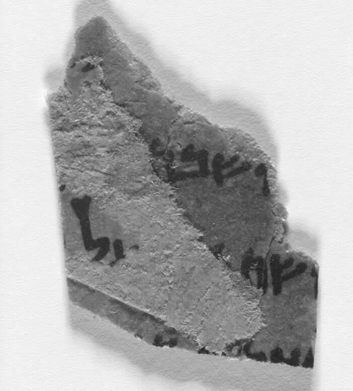 Piece Of Dead Sea Scrolls