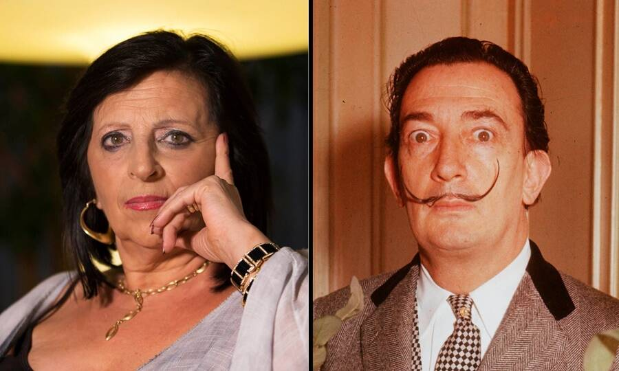 Pilar Abel And Salvador Dali