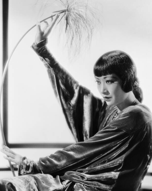 Portrait Of A Young Anna May Wong