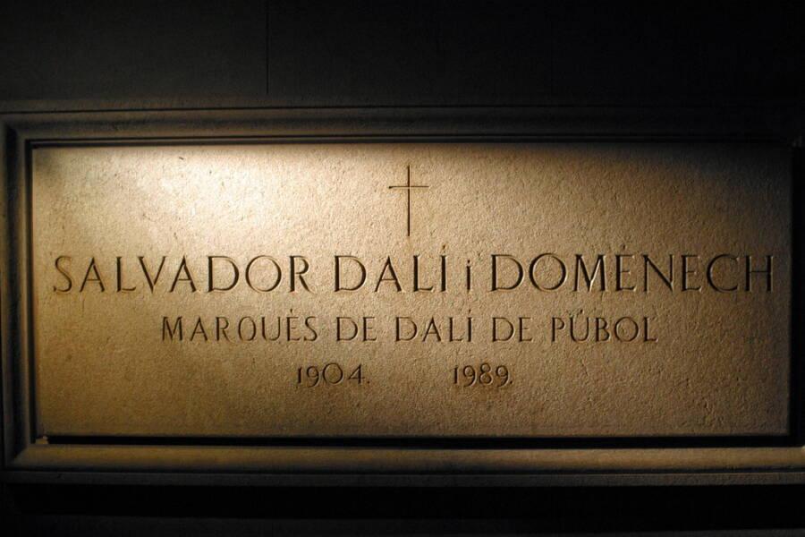 Salvador Dali Crypt