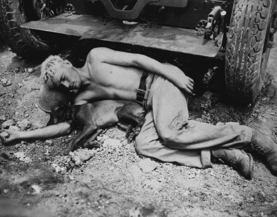 Sleeping Soldier Wwii