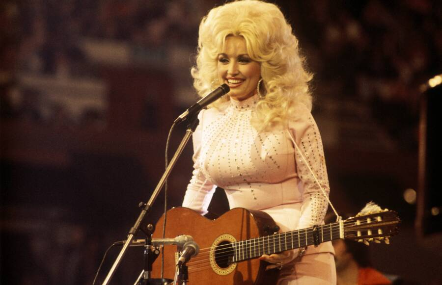 Vintage Dolly Parton Guitar