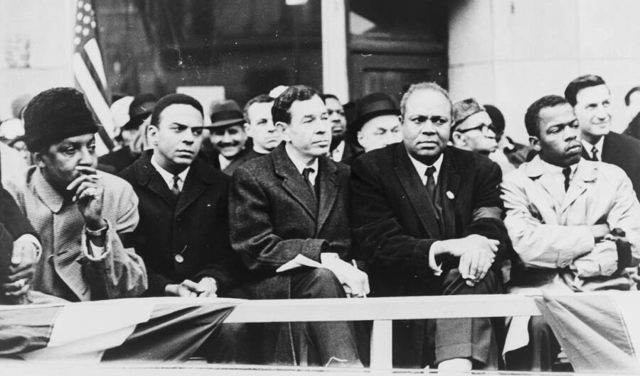 John Lewis And Other Activists