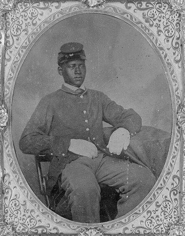 Black Soldier Of The Civil War