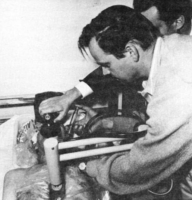 Bob Nelson Injecting James Bedford