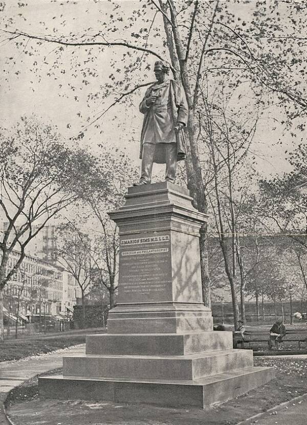 Statue Of J. Marion Sims In Bryant Park