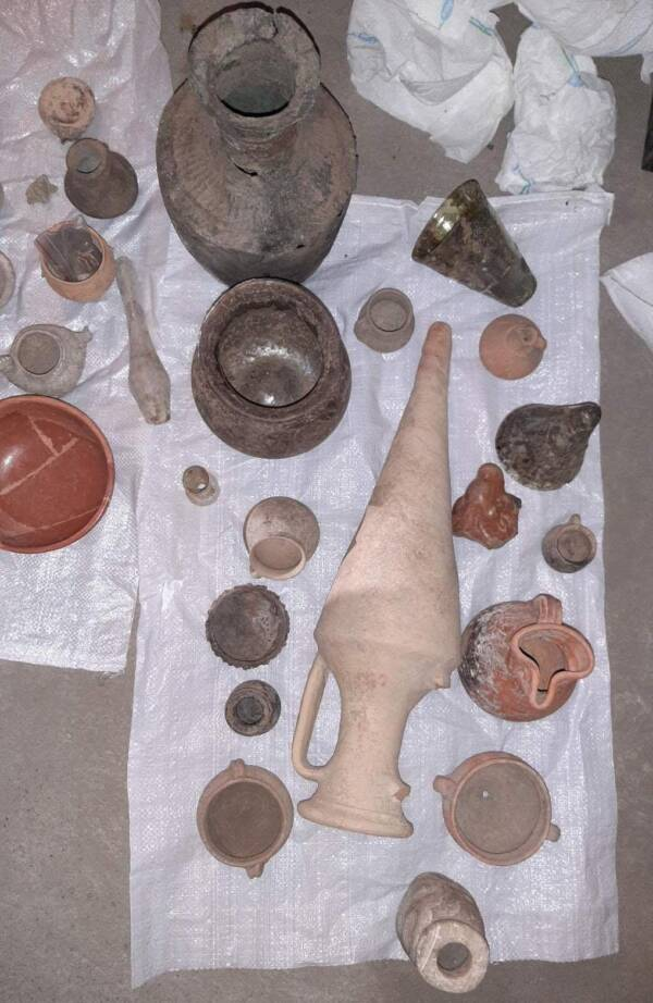 Bulgarian Artifacts Laid Out