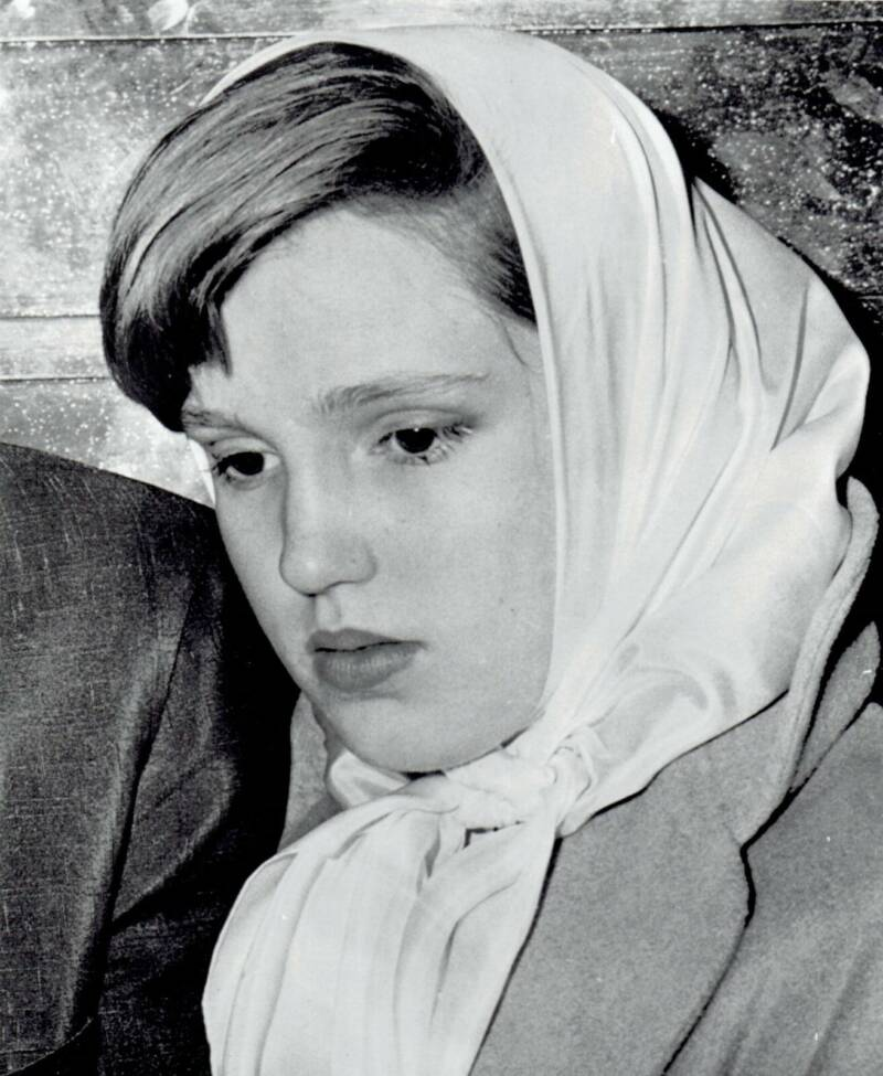 Cheryl Crane After Murdering Johnny Stompanato