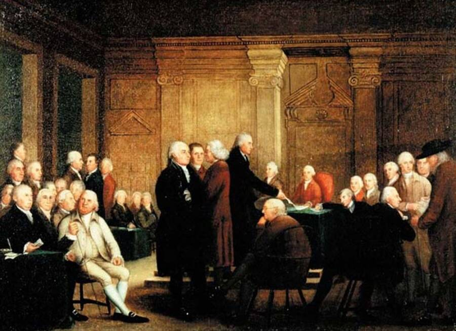 Congress Voting On Independence