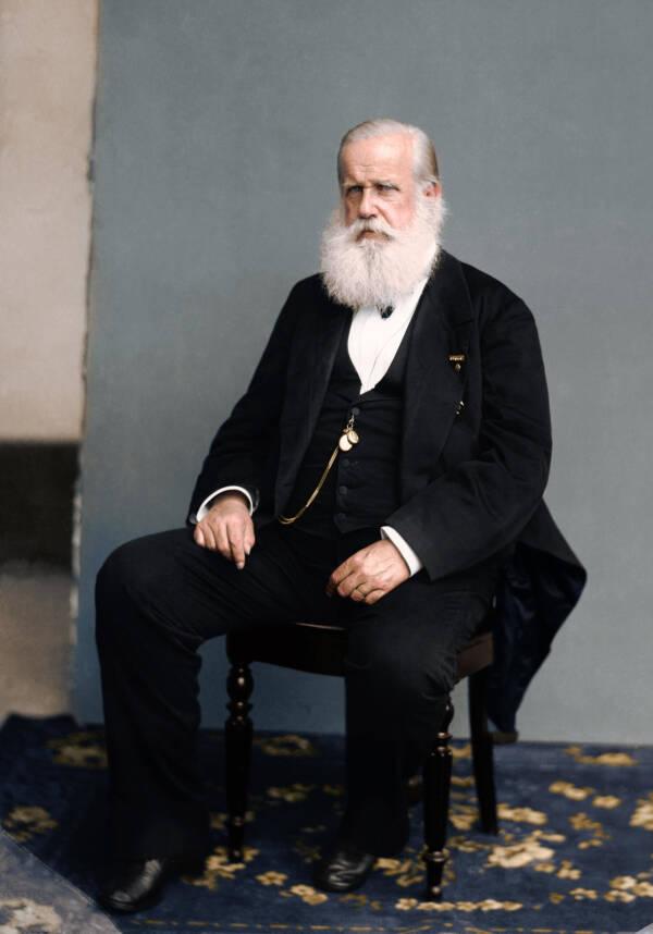 Dom Pedro II In 1889