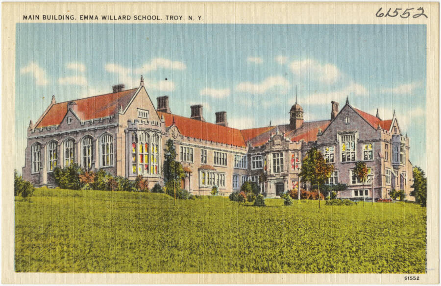 Emma Willard School Postcard Circa 1930s