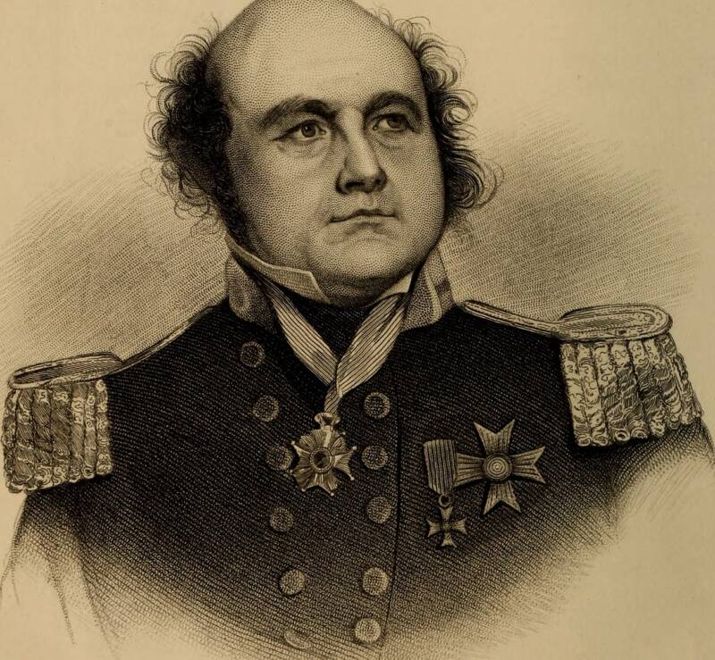 Engraving Of Sir John Franklin