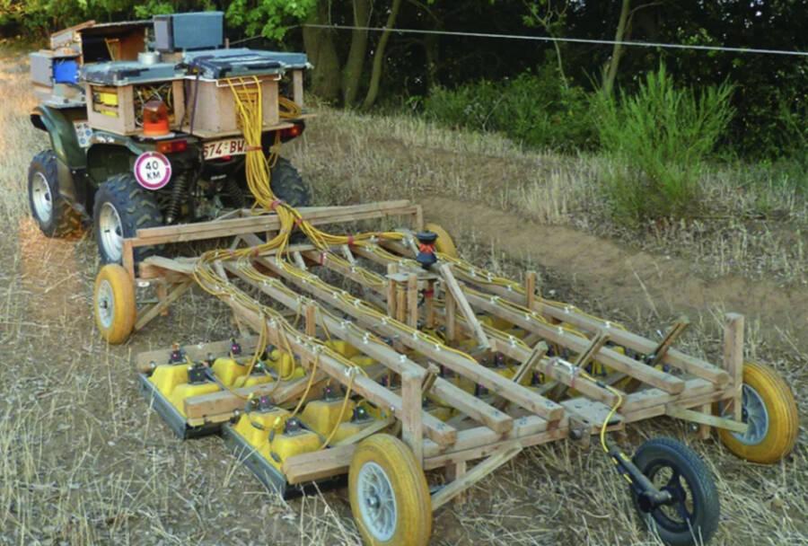 Ground Penetrating Radar And Quad Bike