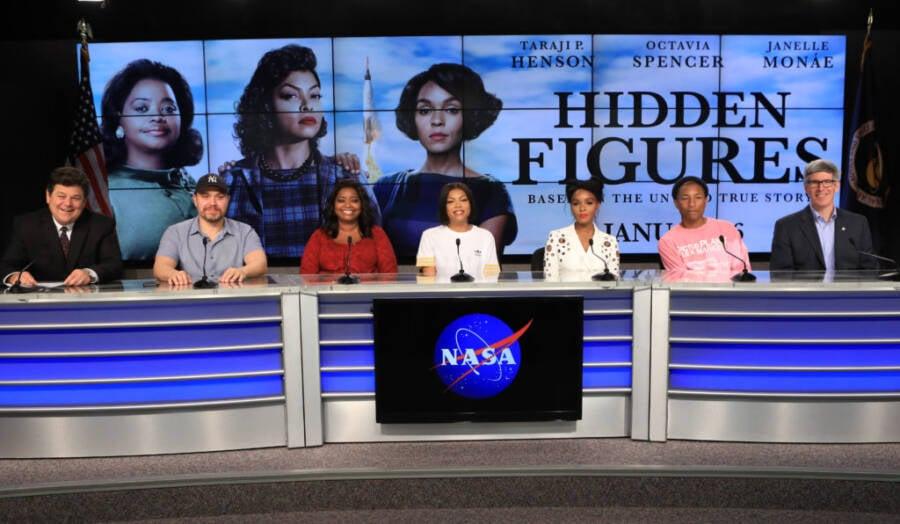 Figuras ocultas lançadas na NASA