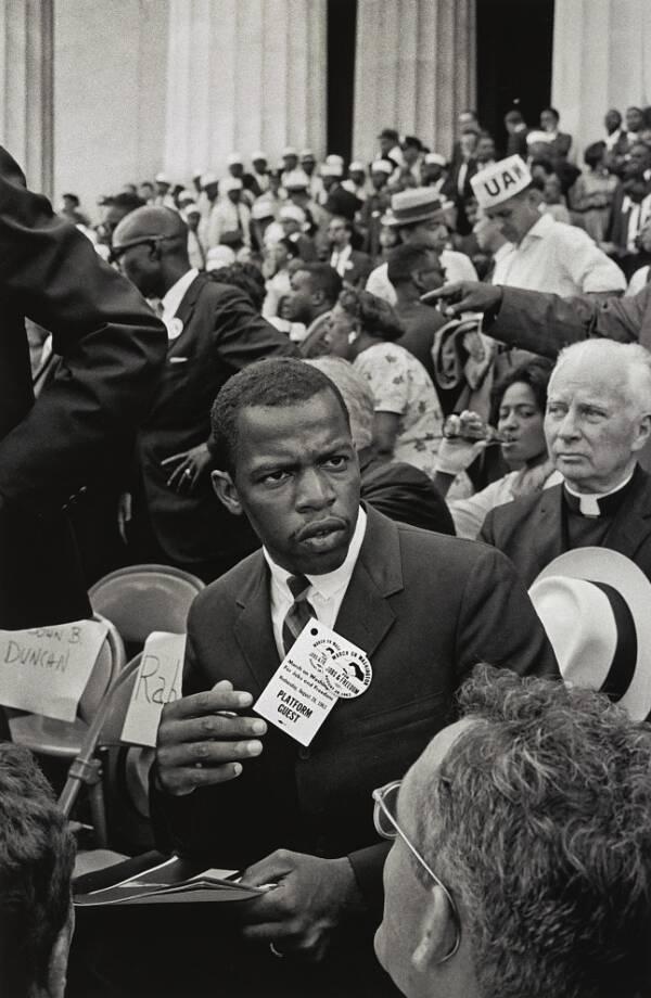 John Lewis At The March On Washington