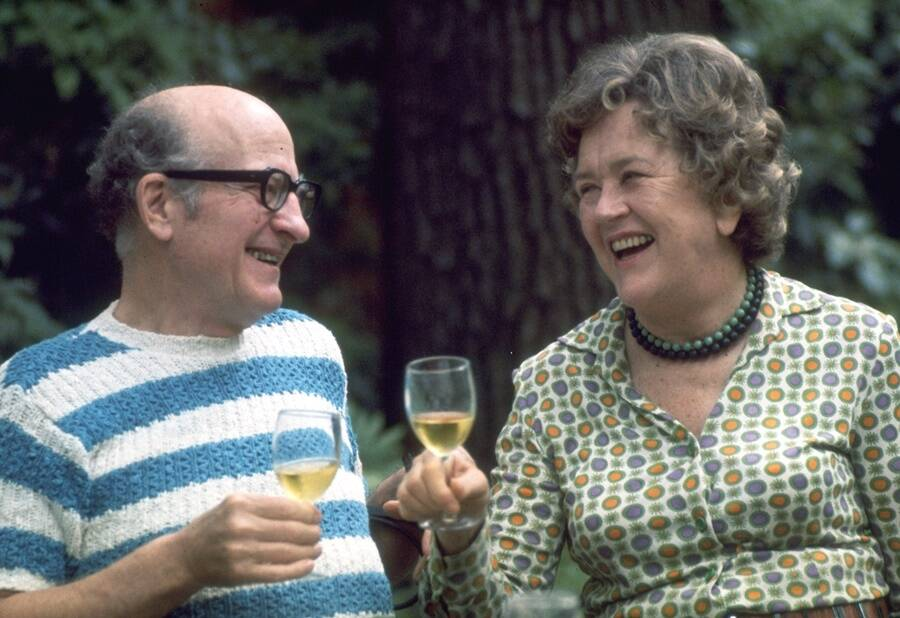 Julia Child And Paul Child