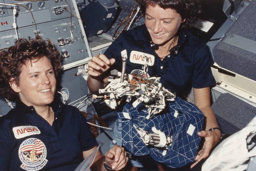 Kathryn Sullivan And Sally Ride