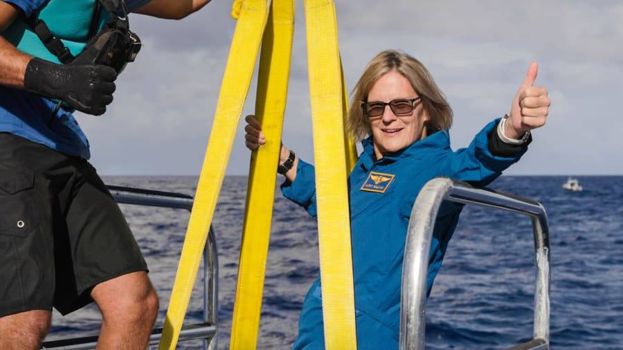 Kathryn Sullivan Challenger Deep Expedition