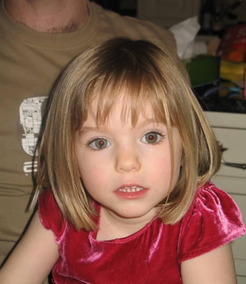 Madeleine Mccan As A Toddler