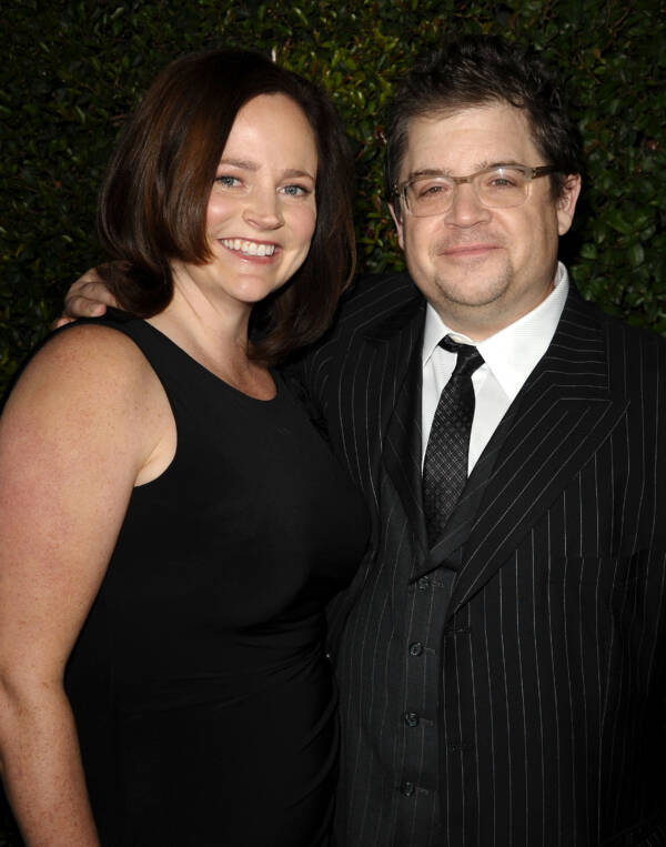 Michelle McNamara With Patton Oswalt