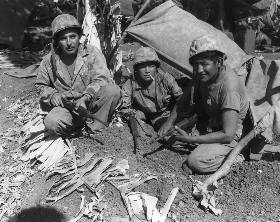 Navajo Service Men At War