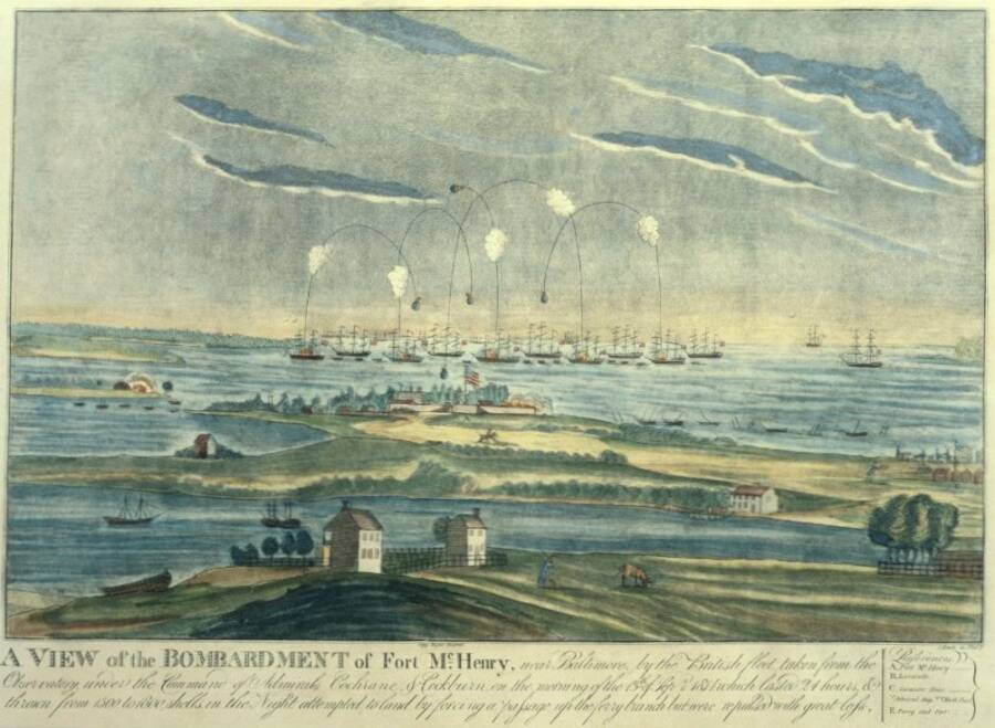 Painting Of Fort Mchenry