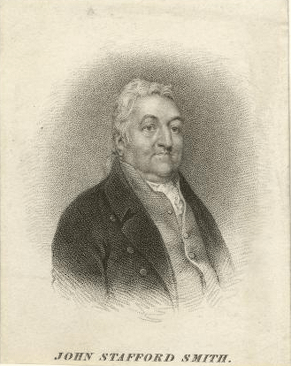 Painting Of John Stafford Smith